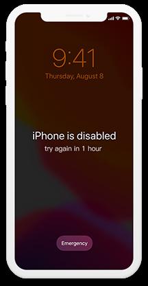 iPhone got locked after Plusieurs Tentatives Incorrectes