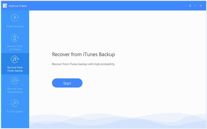 Recover from iTunes