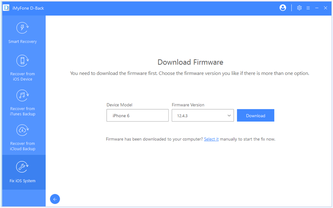 download-firmware-standard