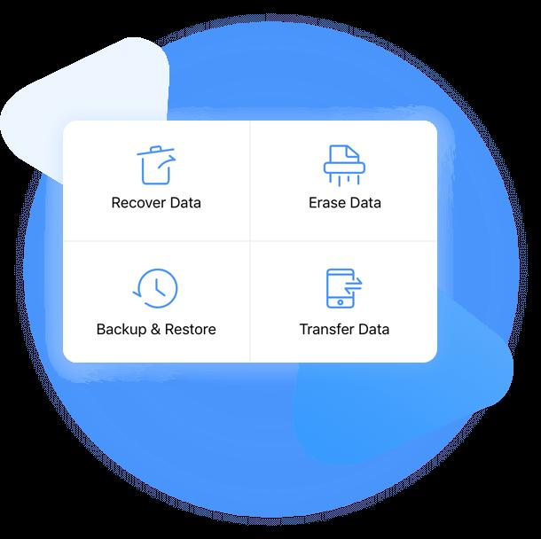 manage iphone data