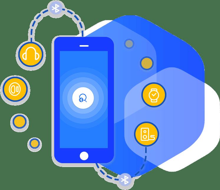 finde bluetoth devices