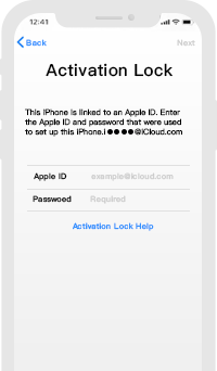 Forget Activation Lock Password
